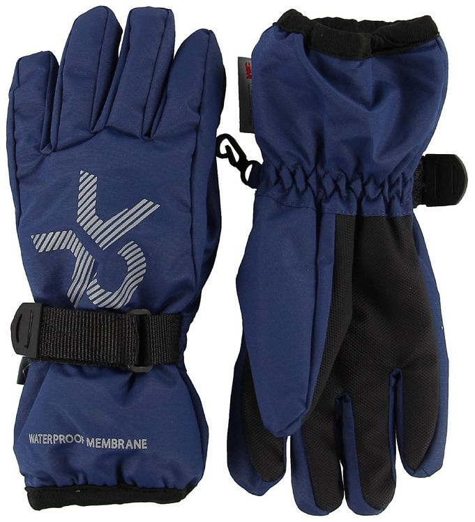 Lyžařské rukavice Color kids Savoy gloves 104493